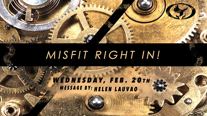 MISFIT RIGHT IN!