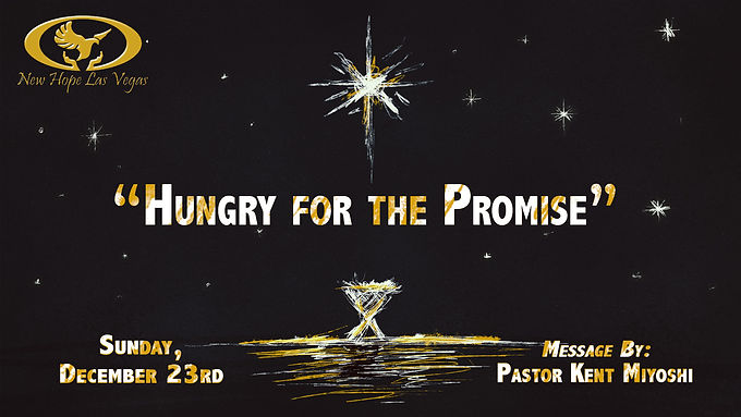 HUNGRY FOR THE PROMISE