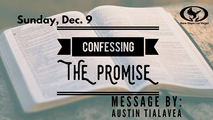 CONFESSING THE PROMISE