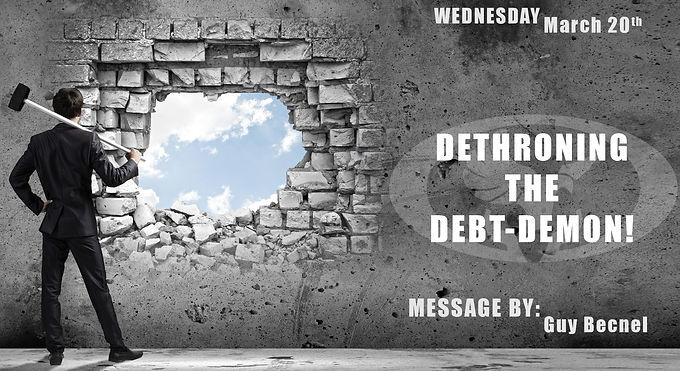 DETHRONING THE DEBT-DEMON!