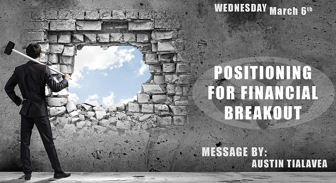 POSITIONING FOR FINANCIAL BREAKOUT!