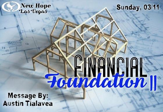 FINANCIAL FOUNDATION II