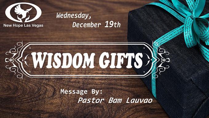 WISDOM GIFTS