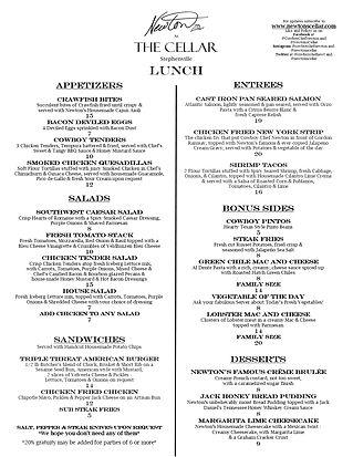 Lunch-  Newton's Cellar 1 page menu.jpg
