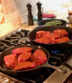 filets in cast iron