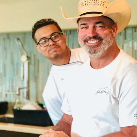 The Cowboy & the Young'un, cooking together again!