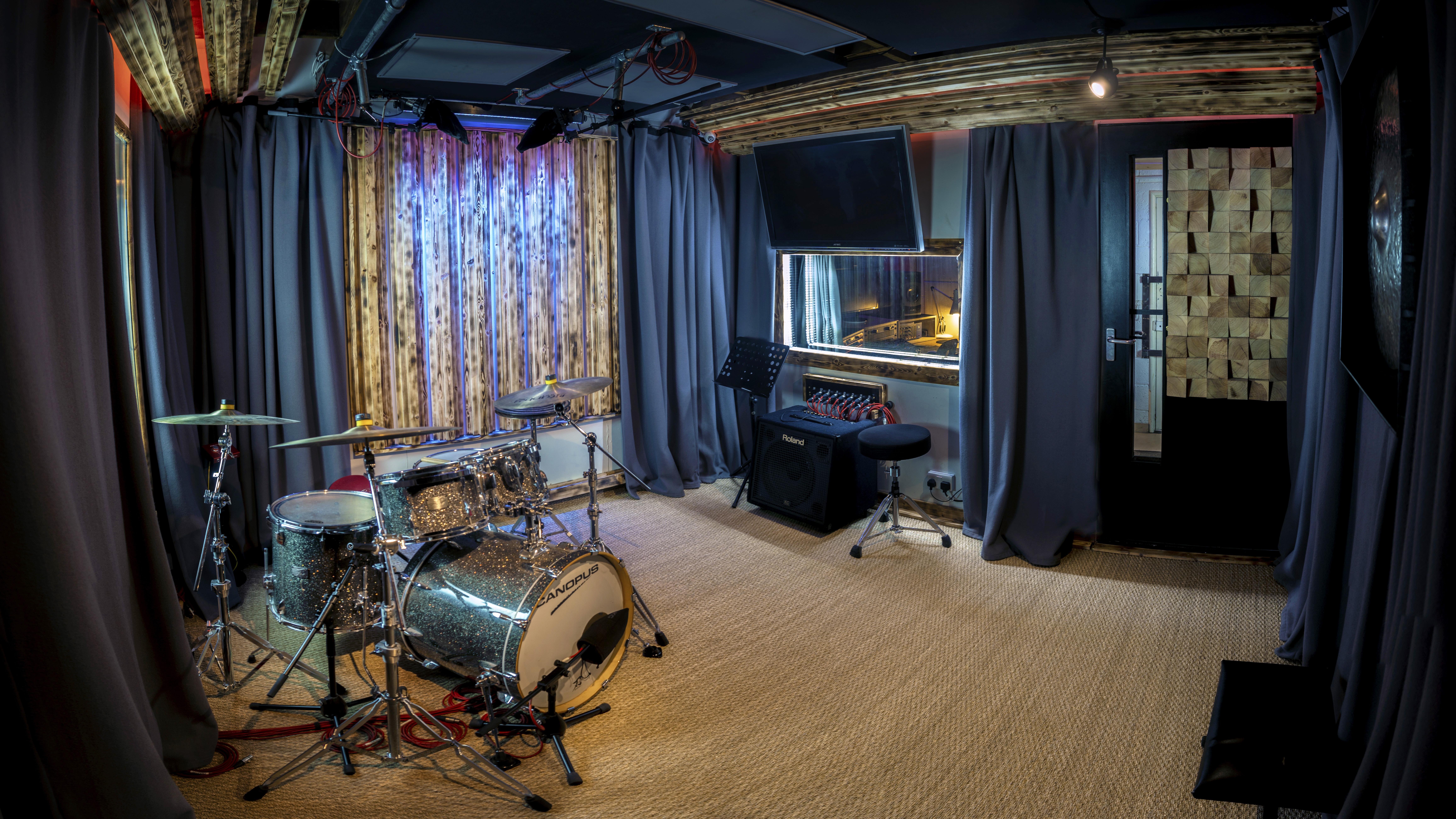 Rubix Studios Live Room