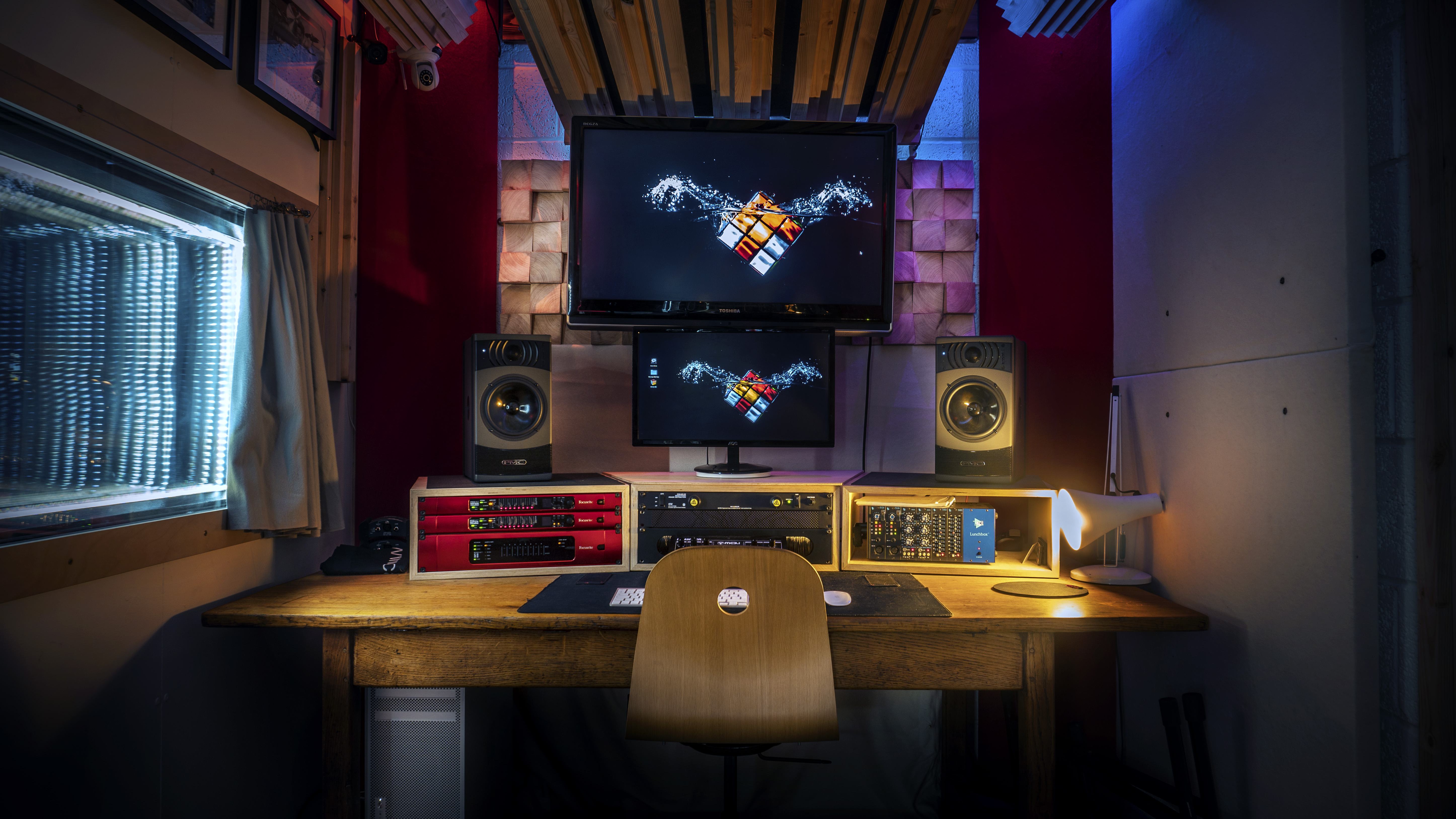 Rubix Studios Control Room