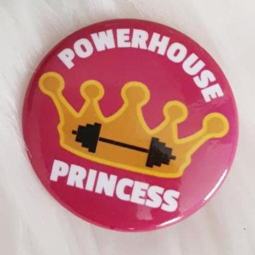 Powerhouse Princess Pin