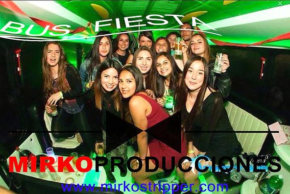 bus fiesta party bus