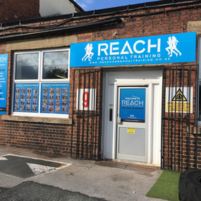 Reach Outdoor Signage
