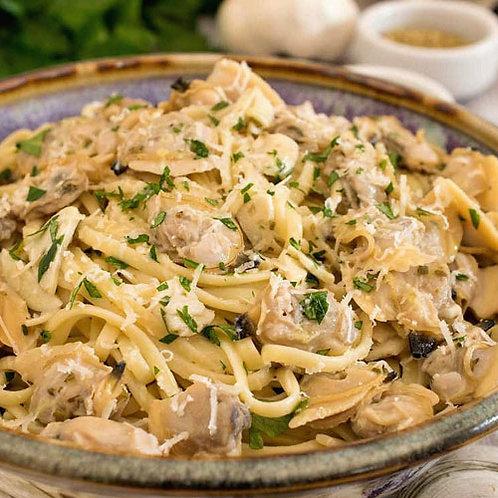 Linguini White Clam Sauce