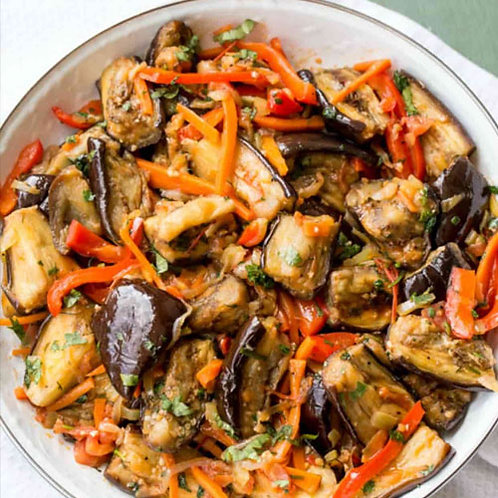 Organic Grilled Vegetable Salad