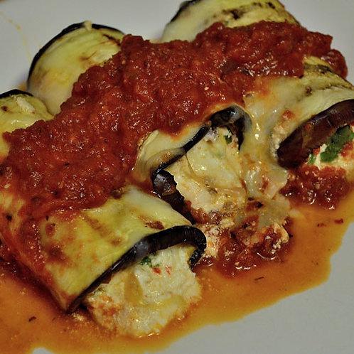 Eggplant Rollatini 15 Pieces