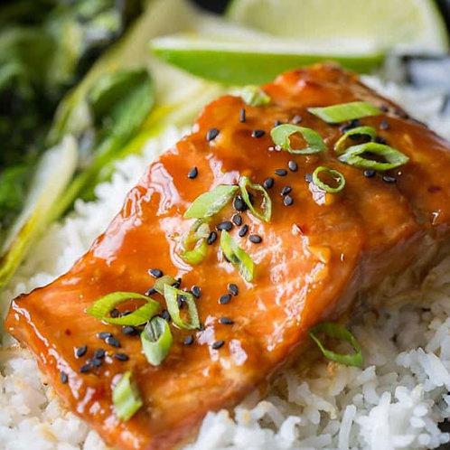 Asian Glazed Salmon Fillet
