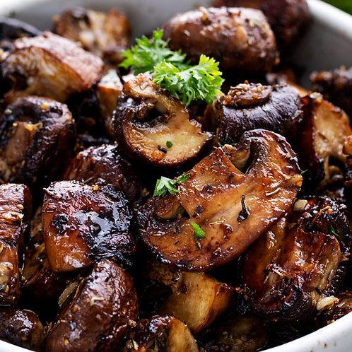 Roasted Mushrooms and Herbs