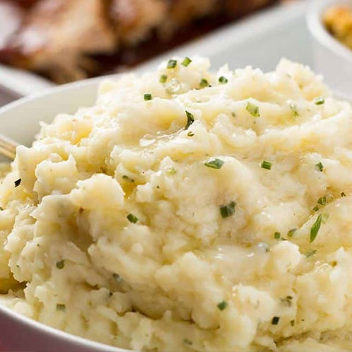 Herb Whipped Potatoes With Shredded Mozzarella