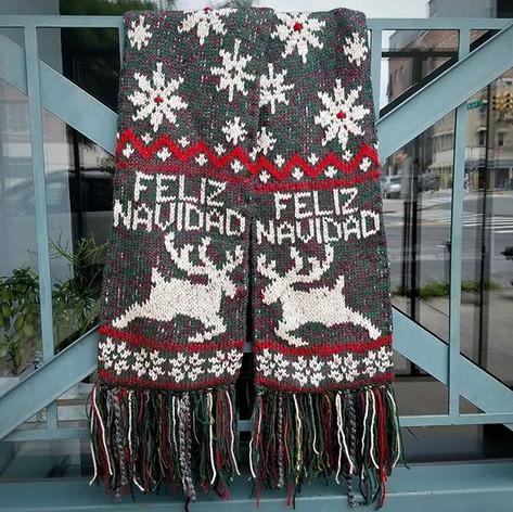 Happy's Feliz Navidad Scarf