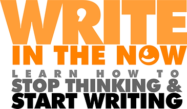 write in the now logo with short tagline