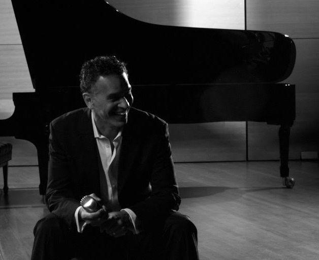 -- stokes studio piano smiling