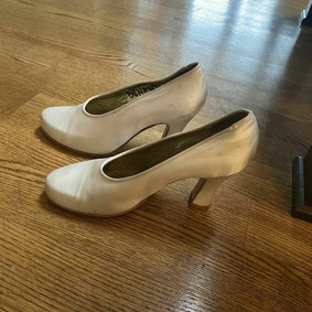 SOLD: Laura Benanti's Sound of Music Shoes (White)