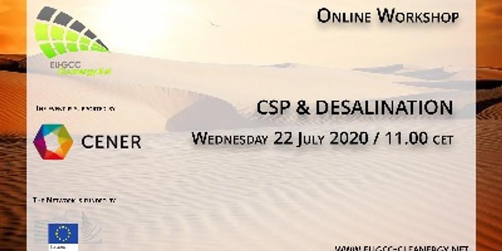 CSP and Desalination