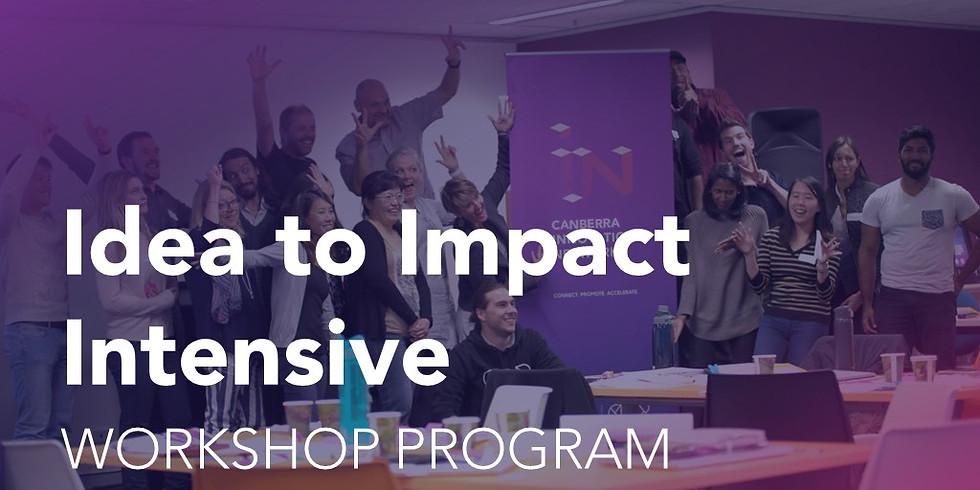 Idea to Impact Intensive