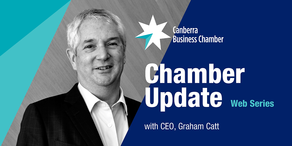 Chamber Update with guest Dr Emma Campbell (ACTCOSS)