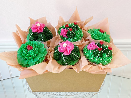 Stuck On You Cupcake Bouquet