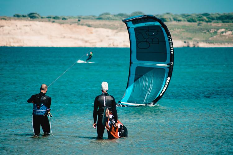 Gokceada kitesurf lessons and courses