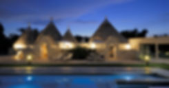Trulli by night