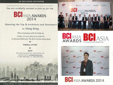 BCI Asia Awards 2014