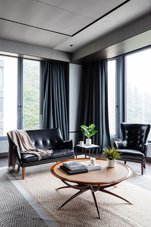 lot-architects-mount-nicholson-collectors-stage-luxury-residential-interior-design-hong-kong 香港住宅室内设计公司 豪宅 聂歌信山 Nordic Style Japanese Living Room
