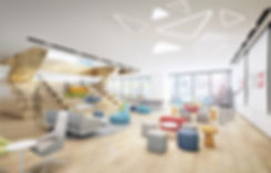 Tricor headquarter office interior design ad build hong kong compay workspace workplace Maple Tree  办公室室内设计公司 Cowork 写字楼 商业 总部设计 创新产业