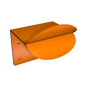 Door-Duck, The Door Handle for Feet (Orange)