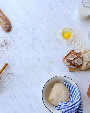 Backen-Brot Zusammensetzung