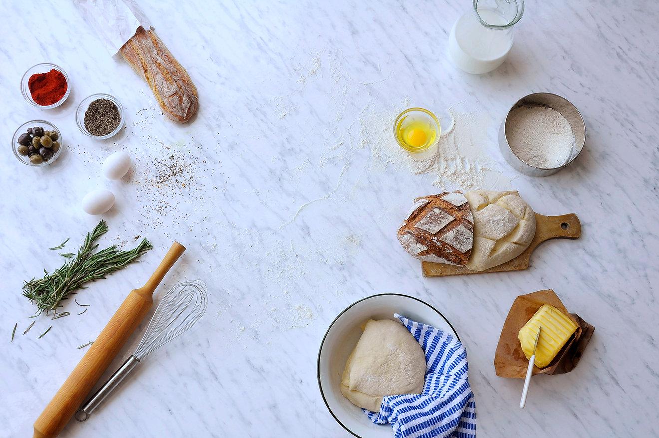 烤麵包組成