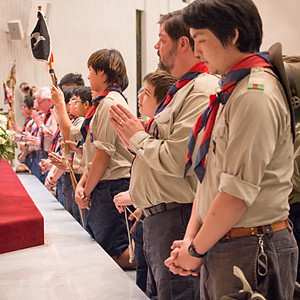 Explorer Promise Cross Ceremony