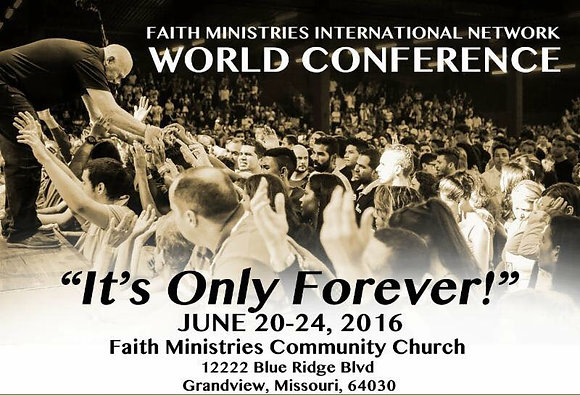 """""""Its Only Forever"""" CDs from World Conference 2016"""