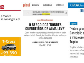 A sutileza do apagamento racial na cobertura do ouro olímpico de Hebert Conceição