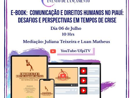 JOII-UFPI lança e-book e Observatório da Mídia Piauiense nesta segunda-feira (06)