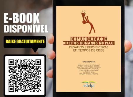 Pesquisadoras/es da UFPI lançam E-book sobre Comunicação e Direitos Humanos no Piauí