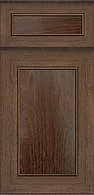 Portland Chestnut Raised Panel Solid Door Style, Kitchen Cabinets, TX Cabinetry
