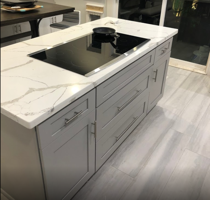 TX Collection - Shaker Grey Cabinet
