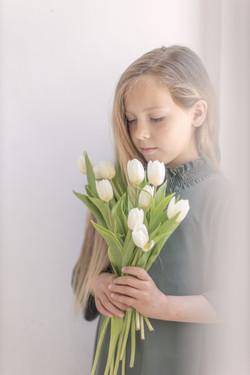 Žanin s tulipani