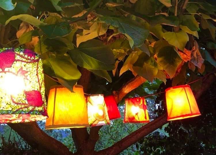 Guirlande de 10 lanternes