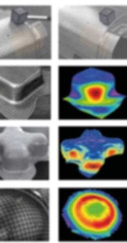 OptiStrain; Strain measurement & analysis, geometry data collection