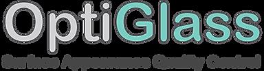 Optiglass surface appearance quality control logo