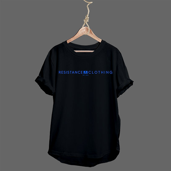 Tee Shirt Schoolboy Black and Blue