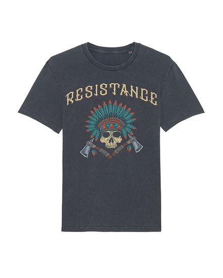 Tee-Shirt Vintage Skull Tomahawk
